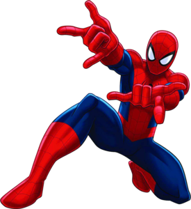 Spiderman Comic Transparent Background PNG Clip art