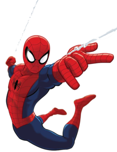 Spiderman Comic PNG Clip art