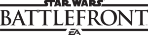 Star Wars Battlefront Logo PNG File PNG Clip art