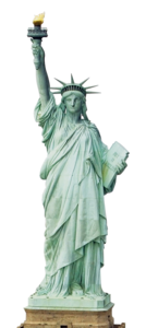 Statue of Liberty Transparent Background PNG Clip art