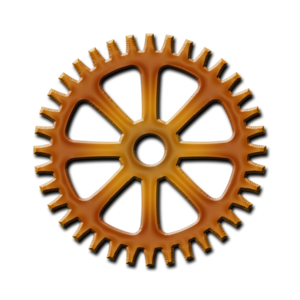 Steampunk Gear PNG HD PNG Clip art
