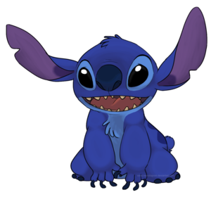 Stitch PNG Free Download PNG clipart