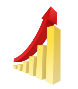 Stock Market Graph Up PNG Image PNG Clip art