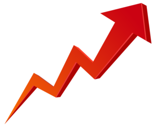 Stock Market Graph Up PNG Transparent Image PNG Clip art