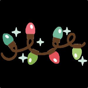 Strand of Christmas Lights PNG Transparent Image PNG Clip art