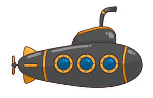 Submarine Download PNG Image PNG Clip art