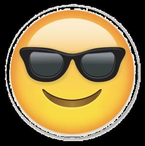 Sunglasses Emoji PNG Photos PNG clipart