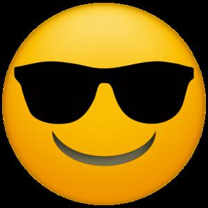 Sunglasses Emoji PNG Transparent File PNG Clip art