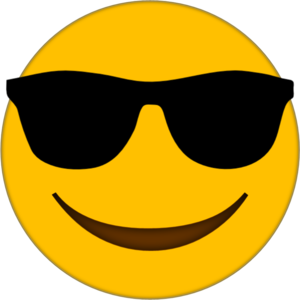 Sunglasses Emoji PNG Transparent Image PNG Clip art