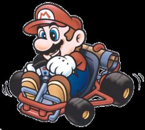 Super Mario Kart PNG Pic PNG Clip art