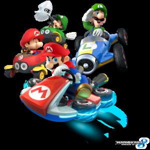 Super Mario Kart Transparent Background PNG Clip art