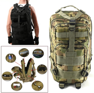 Survival Backpack PNG Photo PNG Clip art