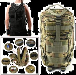 Survival Backpack PNG Photo PNG Clip art