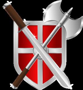 Sword Shield Transparent PNG Clip art
