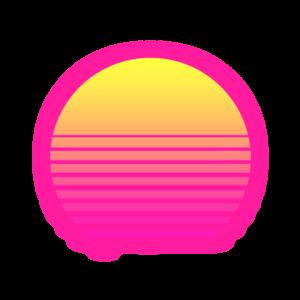 Synthwave PNG Transparent File PNG Clip art