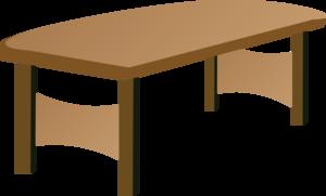 Table Transparent Background PNG Clip art