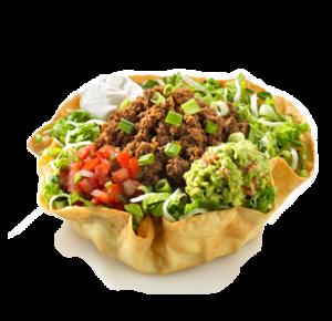 Taco Salad Tortilla Bowl PNG PNG icon