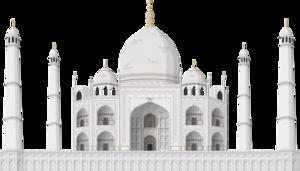 Taj Mahal Fort PNG File PNG Clip art