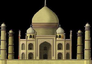 Taj Mahal Fort PNG Transparent Image PNG Clip art