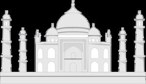 Taj Mahal Transparent Background PNG Clip art