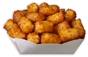 Tater Tots Transparent Background PNG Clip art
