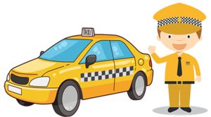 Taxi Driver PNG Clipart PNG icons