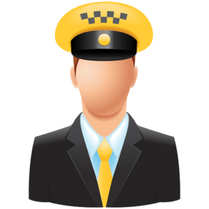 Taxi Driver PNG File PNG icon