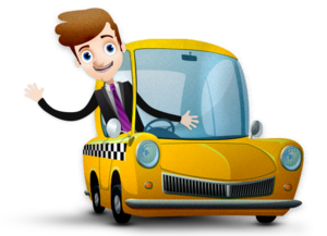Taxi Driver Transparent PNG PNG Clip art