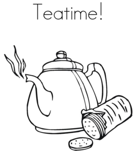 Tea Time PNG HD PNG Clip art