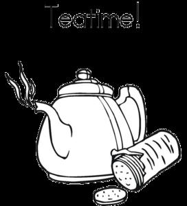 Tea Time PNG HD PNG Clip art