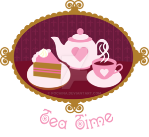 Tea Time PNG Pic PNG Clip art