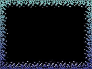 Teal Border Frame PNG Image PNG Clip art