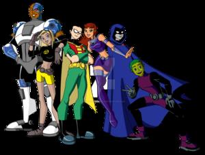 Teen Titans PNG Image PNG Clip art