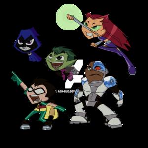 Teen Titans Transparent Background PNG Clip art