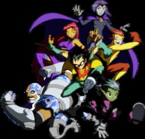 Teen Titans Transparent PNG PNG Clip art