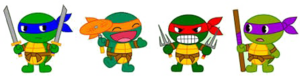 Teenage Mutant Ninja Turtles Transparent Background PNG Clip art