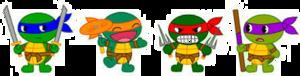Teenage Mutant Ninja Turtles Transparent Background PNG Clip art