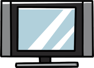 Television PNG Pic PNG Clip art