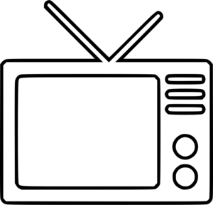 Television Transparent Background PNG icon