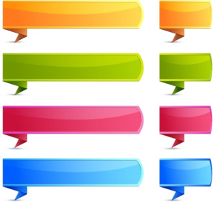 Text Banner PNG Free Download PNG Clip art