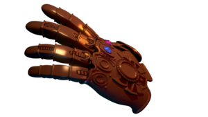 Thanos Infinity Stone Gauntlet PNG Free Download PNG Clip art