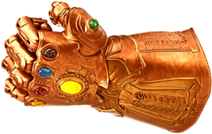 Thanos Infinity Stone Gauntlet PNG Image PNG Clip art