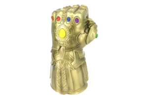 Thanos Infinity Stone Gauntlet PNG Pic PNG clipart