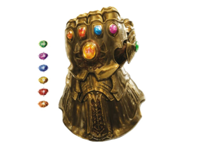 Thanos Infinity Stone Gauntlet Transparent Background PNG Clip art