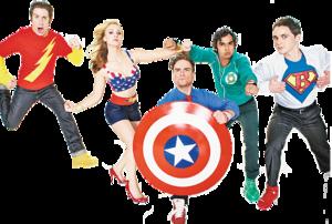 The Big Bang Theory PNG Pic PNG Clip art