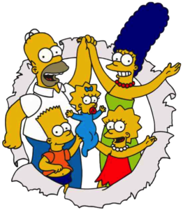 The Simpsons PNG Image PNG icon