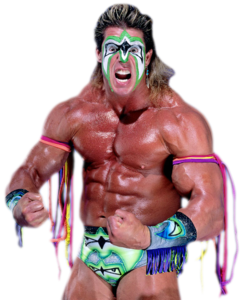 The Ultimate Warrior Transparent Background PNG Clip art