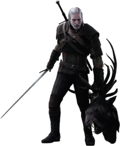 The Witcher Transparent Background PNG Clip art