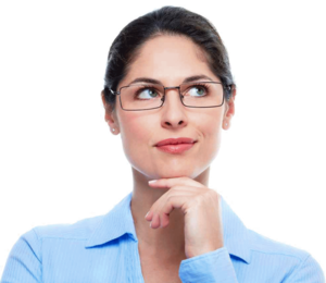 Thinking Woman PNG Background Image PNG Clip art