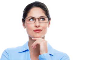 Thinking Woman PNG Image PNG Clip art